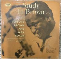 Clifford Brown & Max Roach Study in Brown Emarcy Orig DG
