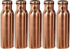 5 Copper Water Pot Jug storage Bottle for Ayurveda Health Benefit copper vessel