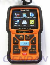 Foxwell NT301 EOBD OBD-II OBD2 Diagnostic Scan Tool with Live Data Graphing