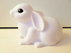 White Rabbit Colour Changing Night Lamp Kids Room Bedside Lamp
