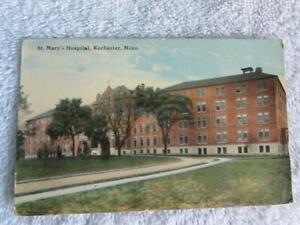Vtg Postcard St. Mary's Hospital, Rochester, Minn