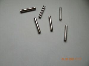 5//64 X 3//8 Standard Duty SAE 1070-1095 Carbon Steel Slotted Spring Pins 4000 pcs
