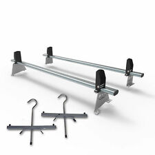 Citroen Nemo Roof rack bars 2 bar system + load stops + ladder clamps AT61LS+A1