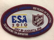 Boy Scouts -   2010 National Jamboree - Salvation Army  patch