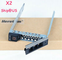 """2PCS DXD9H 2.5"""" SFF HDD Tray Caddy Adapter For DELL R440 R540 RD640 Gen14 G14"""