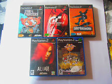 lot ps2 ps 2 fur fighters gran turismo 3 airblade alias animaniacs great hunt