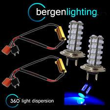 2X H7 Blu 60 LED PROIETTORE FANALE ANTERIORE lampadine ad alta potenza Xenon HL500301