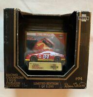 Bill Elliot 1995 Premier Edition Racing Champions 1:64 Scale Car McDonald's