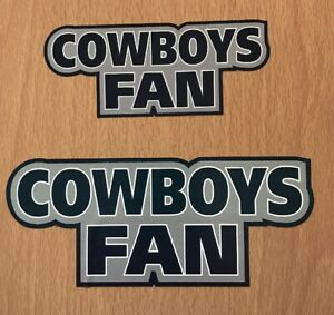 NFL Dallas Cowboys Sticker Decal - NFC West Super Bowl Fantasy Football Team