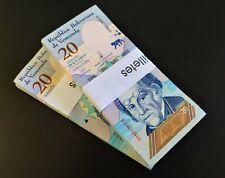 Venezuela 20 Bolivares - Banknoten Bündel, Original & UNZ - 100 Pcs Bundle P NEW