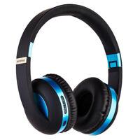 Bluetooth 5.0 Wireless HIFI Headphones Foldable Super Bass Headset Earphone