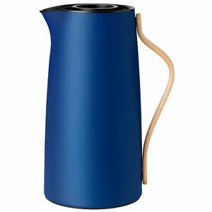Stelton Emma Isolierkanne für Kaffee 1,2 Liter dark blue / dunkelblau