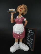 Waitress Waitress Connection 6 11/16in Occupation Funny Figurine Collection New