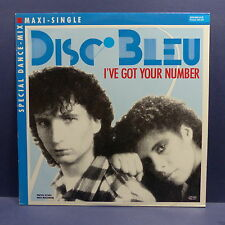 "MAXI 12"" DISC BLEU I've got your number 259664 0"