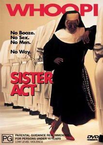 Sister Act. VGC DVD R4. Whoopi Goldberg, Harvey Keitel.