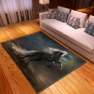 War Horse Series Small Large Long Floor Carpet Area Rugs Various Size Soft Rug
