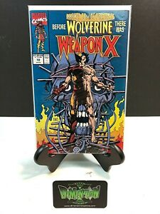 MARVEL COMICS PRESENTS #72 BEFORE WOLVERINE THERE WAS WEAPON X VF/NM 1991