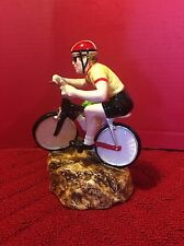 Schmid The Long & Winding Road Bicycle Bicyclist music box