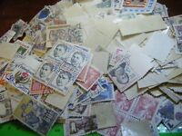 Mixture large lot CZECHOSLOVAKIA stamps,many  old, off-paper,see photos.