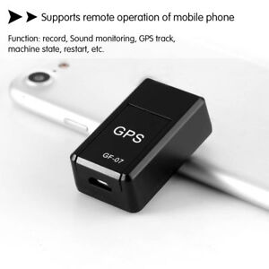 Magnetic Mini Car SPY GSM GPRS GPS Tracker Real Time Tracking Locator Device GF7