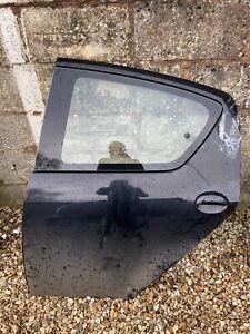 Toyota Aygo Rear Passenger Door Left Nearside In Black Off 5 Door BARE