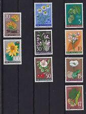 Postfrische Briefmarken aus Jugoslawien mit Pflanzen-Motiv