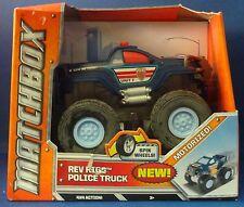 Matchbox Rev Rigs Police Truck
