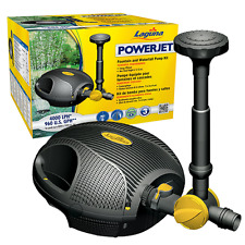 Laguna Powerjet 2200 Fountain and Waterfall Pond Pump (Free Chlorine Answer)