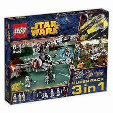 LEGO ® Star Wars ™ 66495 SUPER PACK 3in1 (75038 75037 75045) NUOVO NEW OVP (B-Ware)