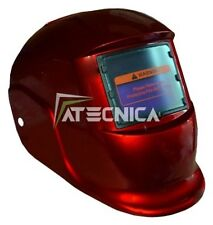 MASCHERA LCD AUTOSCURANTE ATECNICA SPIDER RED SALDATURA ELETTRODO MIG MAG TIG