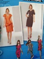 Simplicity Sewing Pattern 1798 Misses Ladies Dress Size 12-20 Uncut