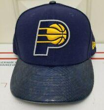 RARE New Era 9Fifty Indiana Pacers Snakeskin Snapback Hat Blue NBA