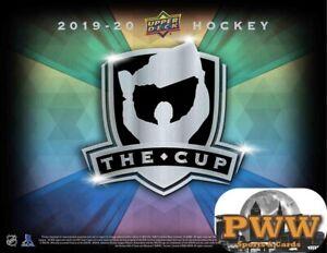 VEGAS GOLDEN KNIGHTS 2019-20 Upper Deck The Cup Hockey Half Case Break #5