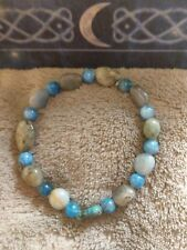 weight loss bracelet metabolism crystal healing apatite Chrysocola amazonite