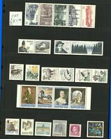Sweden 1977/89 Ad-Hoc Range of Commemoratives and Booklets to Include And Stamps