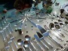 LARGE WALLACE GRAND BAROQUE STERLING SILVER FLATWARE OLD SET RARE SERVER 106 Oz!