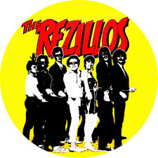 CHAPA/BADGE THE REZILLOS . pin button punk adverts ramones damned revillos