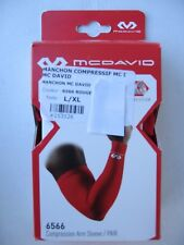 MCDAVID manchon Compression Arl sleeve L/XL 6566  RED rouge
