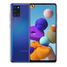 "SAMSUNG GALAXY A21s BLUE 32 GB ROM 3 GB RAM DUAL SIM DISPLAY 6.5"" HD ANDROID"
