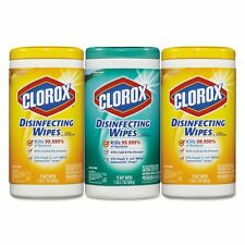 Clorox Disinfecting Wipes, 7 x 8, Fresh Scent/Citrus Blend, - CLO30208PK