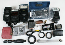 PHOTO EQUIPMENT, MISALLIANCES MIXED LOT, AS IS