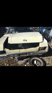 1970 Ford LTD 4 Doors Trunk Lid Chrome Trim Moulding Molding OEM