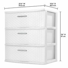 Sterilite 25308001 Drawer - White