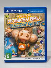 Super Monkey Ball: Banana Splitz (Sony PS Vita, 2012) EN/DE/ES/FR/IT