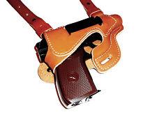 Walther PPK, Makarov, IZH-70/71, FEG PA63, shoulder gun holster, genuine leather