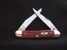 Case XX Chestnut Bone Muskrat Pocket Knife