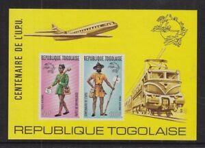 TOGO 1974 UPU CENTENARY SHEET ISSUE SCOTT #C223a MINT NH CAT $40
