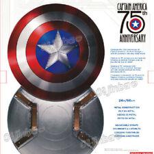 Captain America Marvel 75th Anniversary Legends 1:1 Aluminium Alloy Shield Cos