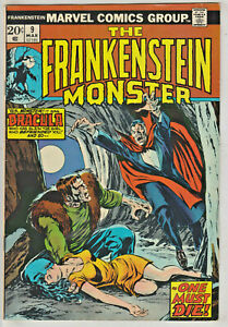 FRANKENSTEIN MONSTER#9 FN/VF 1974 MARVEL BRONZE AGE COMICS