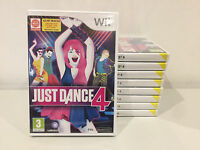 Just Dance 4 Nintendo Wii PAL BRAND NEW FARCTORY SEALED